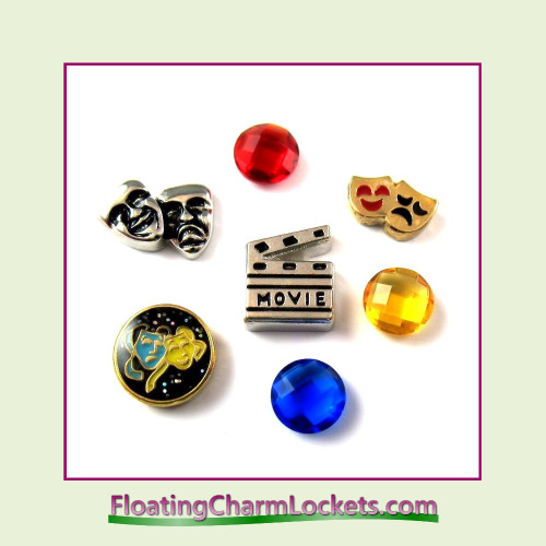 FCL Designs® Drama Floating Charm Combo for Lockets