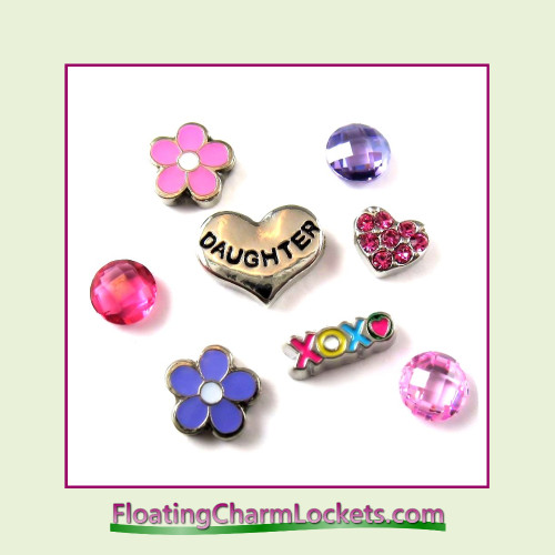 FCL Designs® Daughter Floating Charm Combo for Lockets