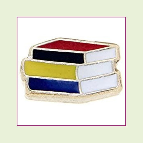 Book Stack Floating Charm