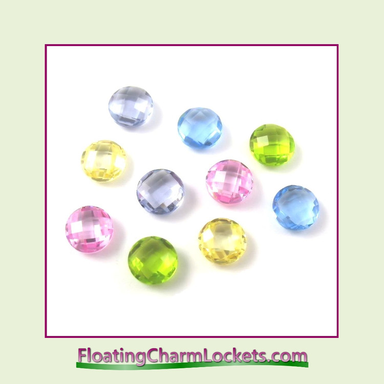 FCL Designs Easter Crystals Floating Charm Combination for Lockets