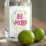 Personalised 'Be Merry' Gin