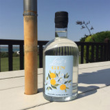 Personalised Gin with Lemon Design