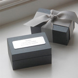 Knot Cufflink In Personalised Box