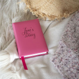 Pink Personalised 5 Year Diary