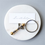 Nuts About You Keyring