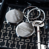 'The Day We First Met' Keyring