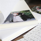 50 Page Leather Ivory Album