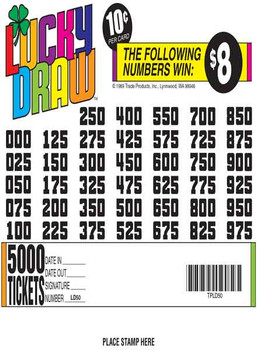 LUCKY DRAW 36 40/08 10 5000