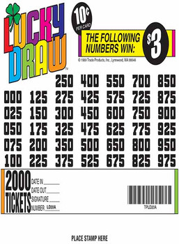 LUCKY DRAW 40 40/04 10 2000