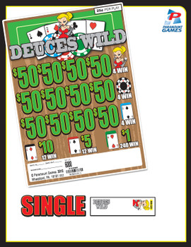 DEUCES WILD 32 12/50 25 6000