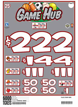 GAME HUB 36 1/222 25 6000