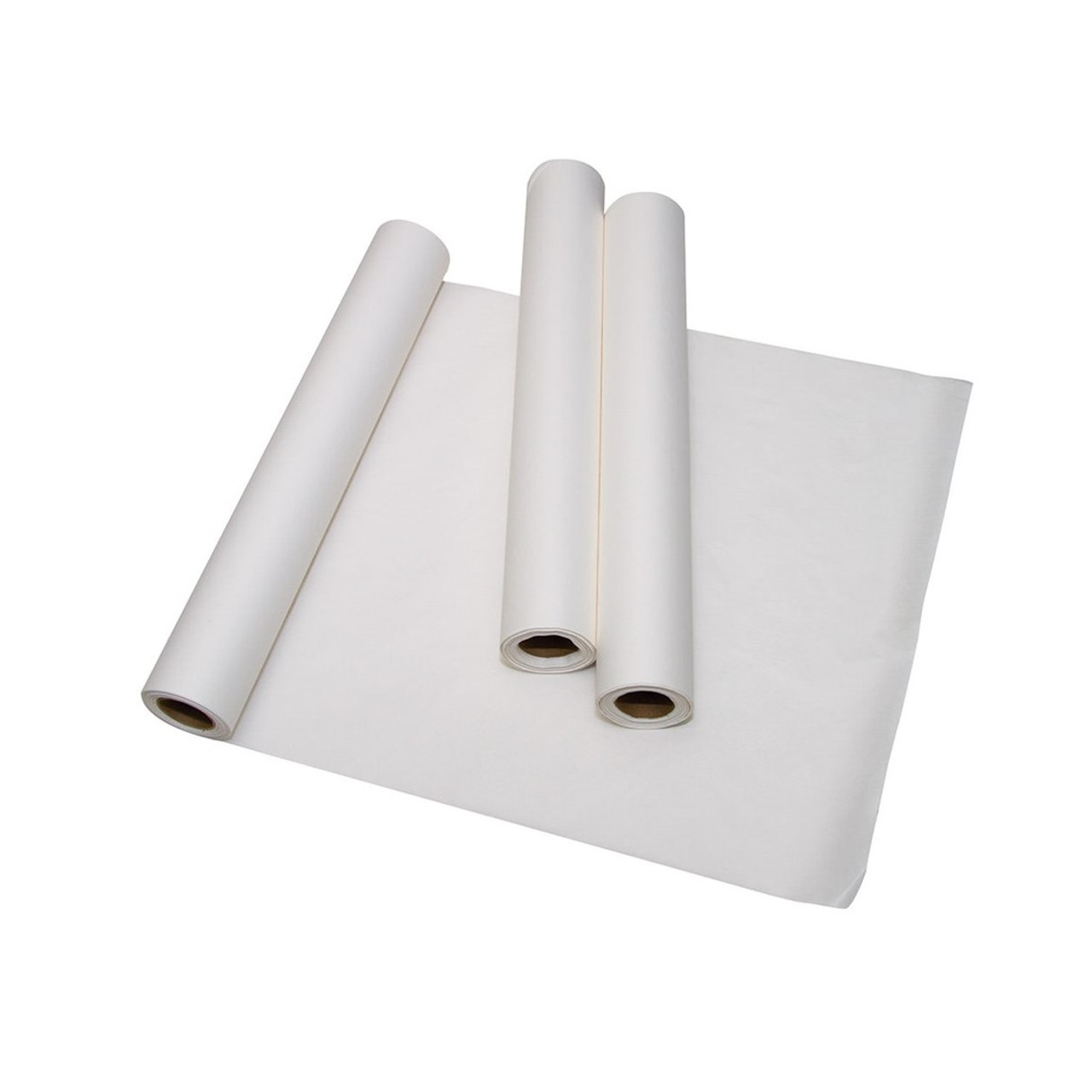 "18/"" x 125/' Standard Crepe Avalon Papers 613 Exam Table Paper Pack of 12"