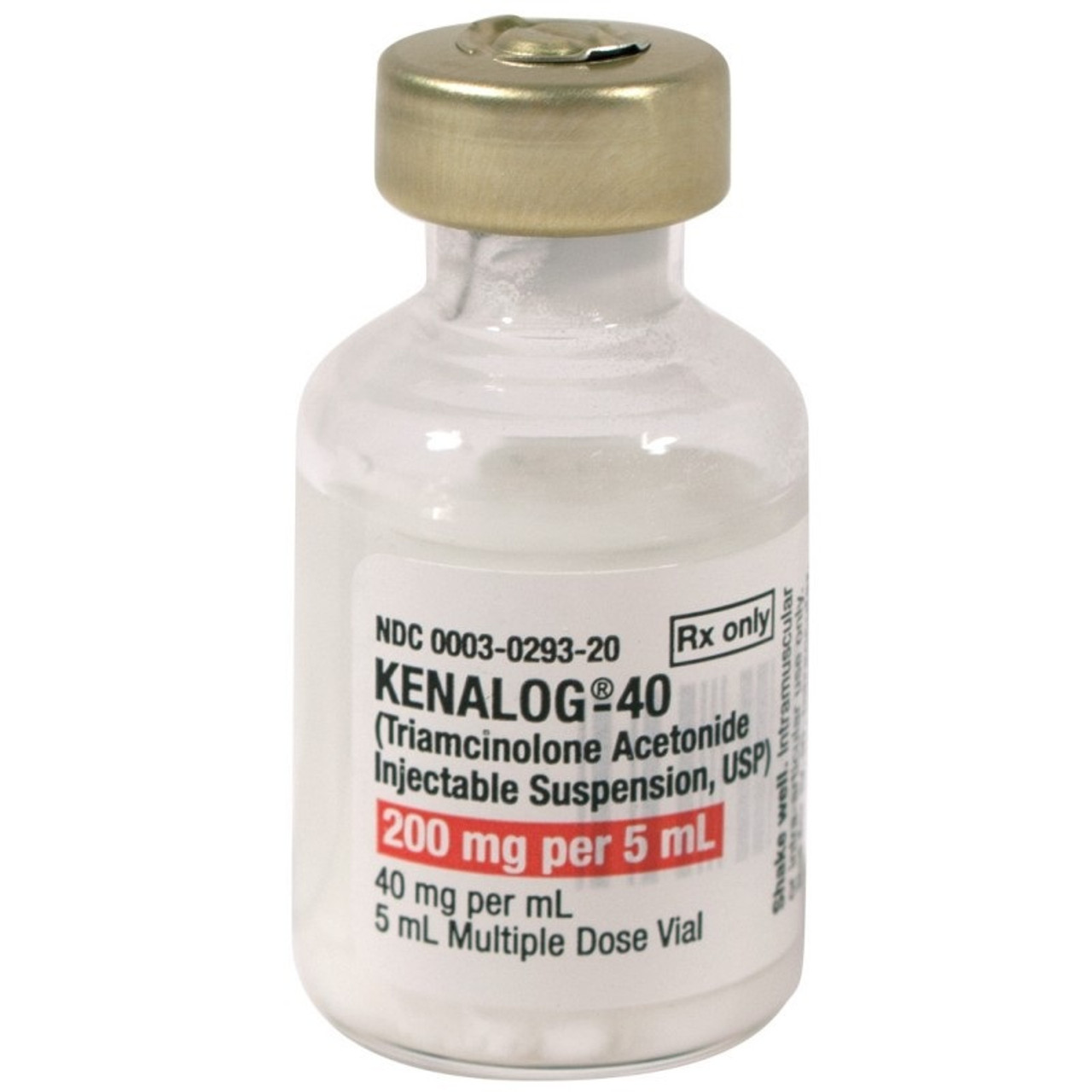 Bristol-Myers Squibb 40mg/mL Kenalog-40 Injection in 5mL MDV