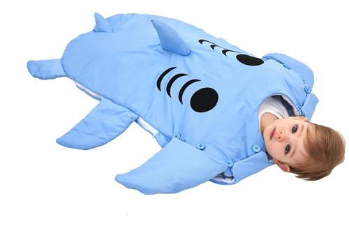 Baby Shark Wearable Sleeping Bag
