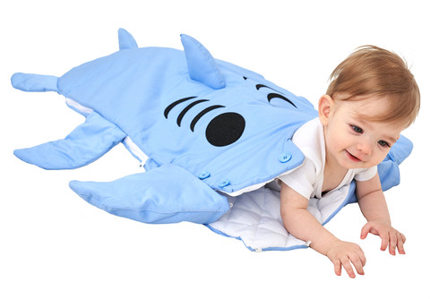 Baby Shark Wearable Sleeping Bag