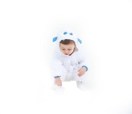 Animal Style Baby Yeti Onesie Suit