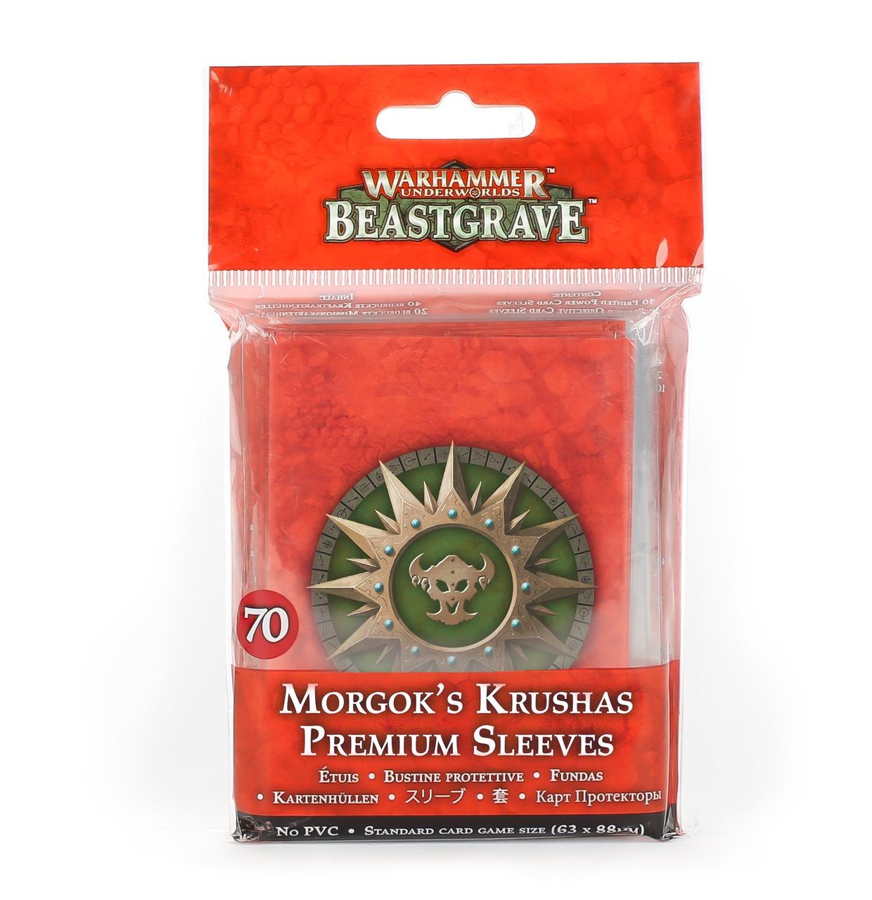 Warhammer Underworlds Beastgrave Morgok/'s Krushas Card Singles
