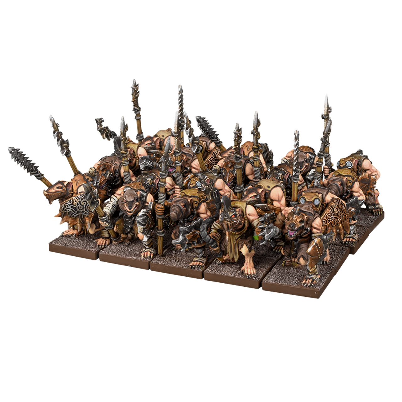 Kings of War 2-Player Starter Set War in the Holds Mantic Games Orcs and Skaven