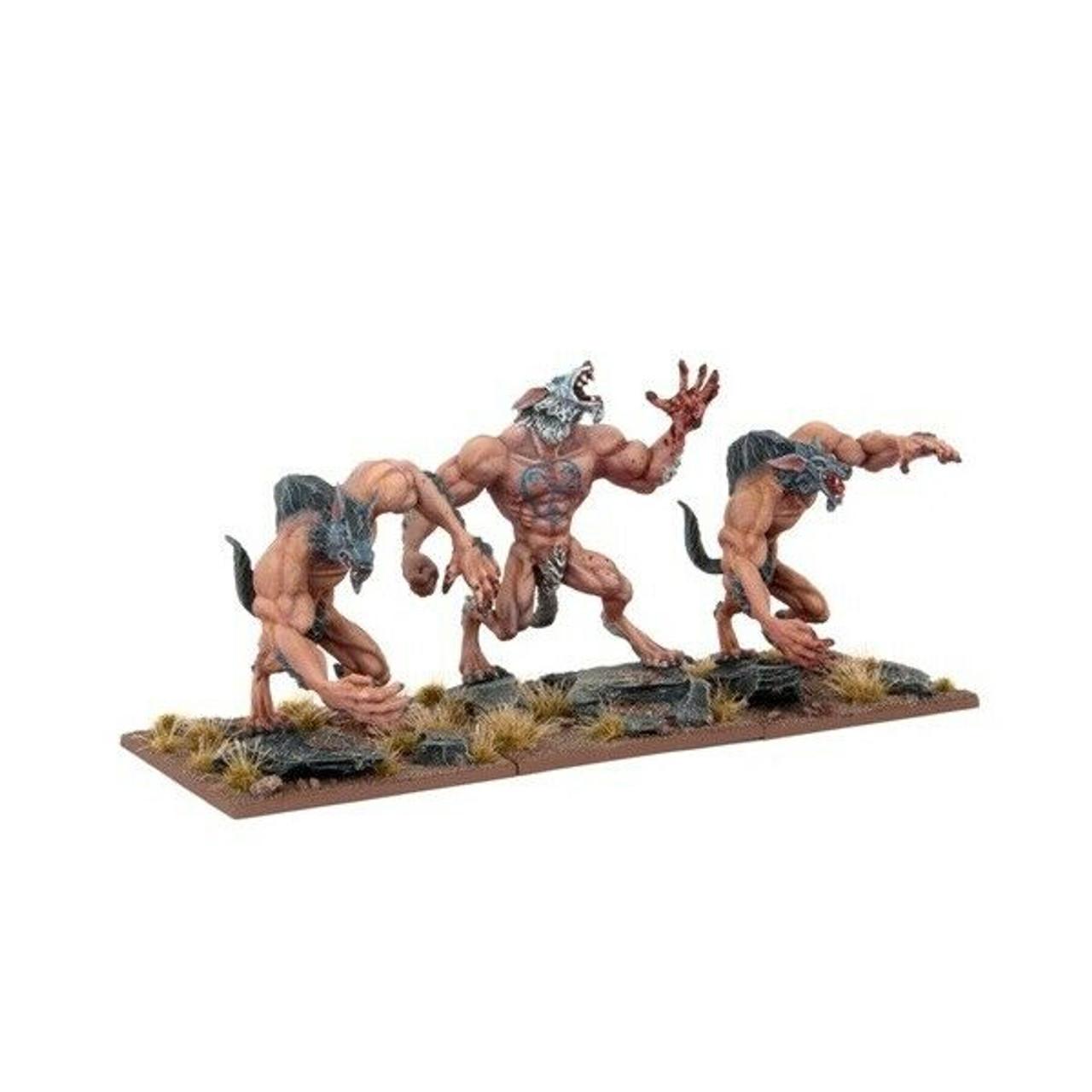Undead Kings of War Zombie Troll Regiment