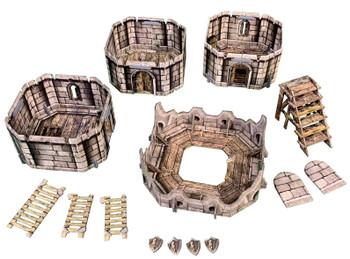 Battle Systems Fantasy Terrain Citadel Tower