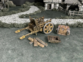 Battle Systems Fantasy Terrain Baggage Cart
