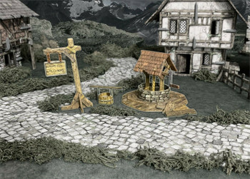Battle Systems Fantasy Terrain Village Well
