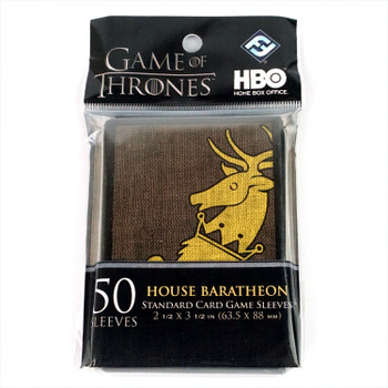 FFG Game of Thrones: House Baratheon Card Sleeves