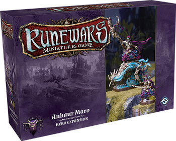 RuneWars Waiqar Ankaur Maro Hero Expansion