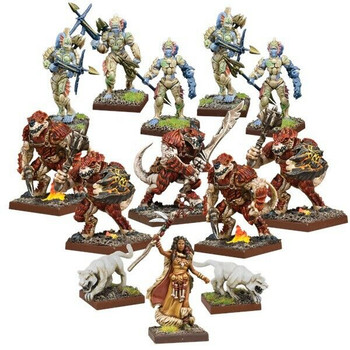Kings of War: Vanguard Forces of Nature Warband Set