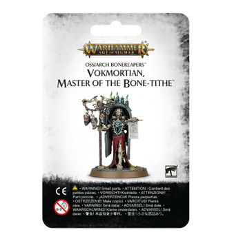 Age of Sigmar Ossiarch Bonereapers Vokmortian, Master of the Bone-tithe