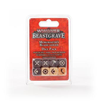 Warhammer Underworlds: Beastgrave Morgwaeth's Blade-Coven Dice Set