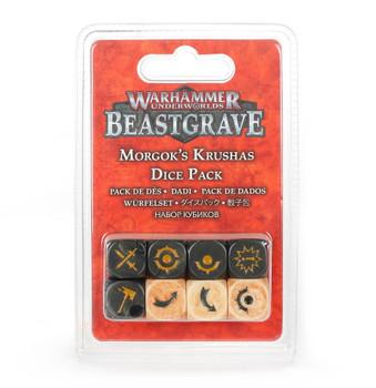 Warhammer Underworlds: Beastgrave Morgok's Krushas Dice Set