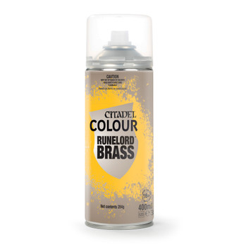 GW / Citadel Spray Paints - Runelord Brass