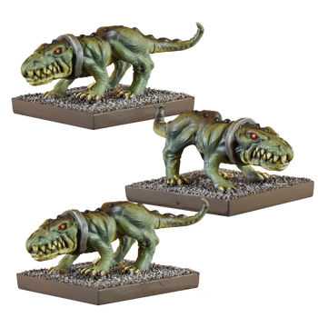 Kings of War Ogres Crocodogs