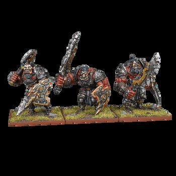 Kings of War Ogres Ogre Warriors Regiment (2020)