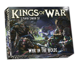 Kings of War 3rd Edition 2-Player Starter Set: War in the Holds