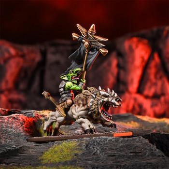 Kings of War Goblins Flaggit on Mawbeast