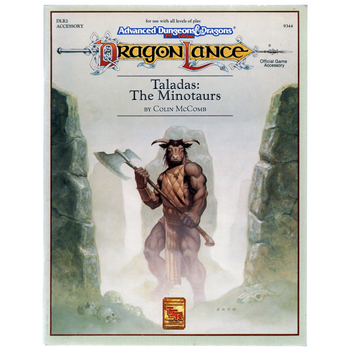 AD&D 2nd Edition Dragonlance Taladas, the Minotaurs - Pre-owned