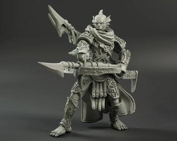 Kings of War Trident Realm Alaia, Naid Stalker