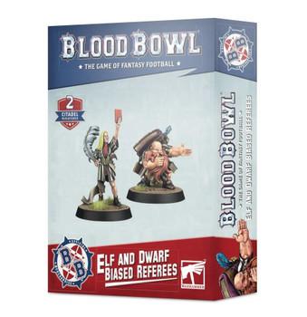 Blood Bowl Elf & Dwarf Biased Referees