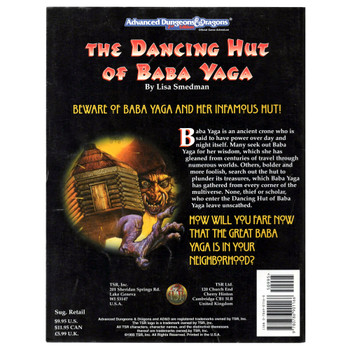 AD&D 2nd Edition Module 9471: The Dancing Hut of Baba Yaga - Pre-owned
