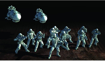 Prodos Games Mutant Chronicles: Warzone Resurrection Capitol Starter Box