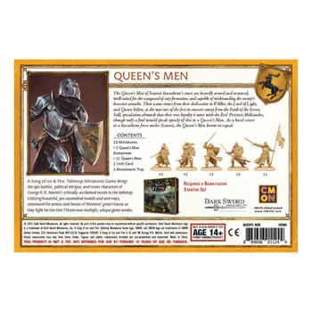 ASOIAF Baratheon Queen's Men