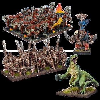 Kings of War Salamanders Army