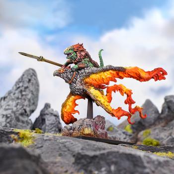 Kings of War Salamanders Ghekkotah Skylord