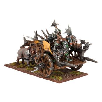 Kings of War Orcs Chariot / Fight Wagon Regiment