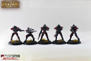 Prodos Games Mutant Chronicles: Warzone Resurrection The Brotherhood Troopers