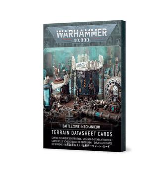 40k Battlezone Mechanicus Terrain Cards
