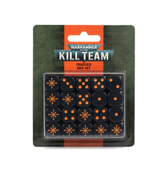 40k Kill Team Chaotica Dice Set