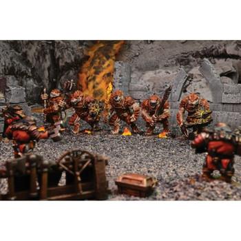 Kings of War Salamander Regiment